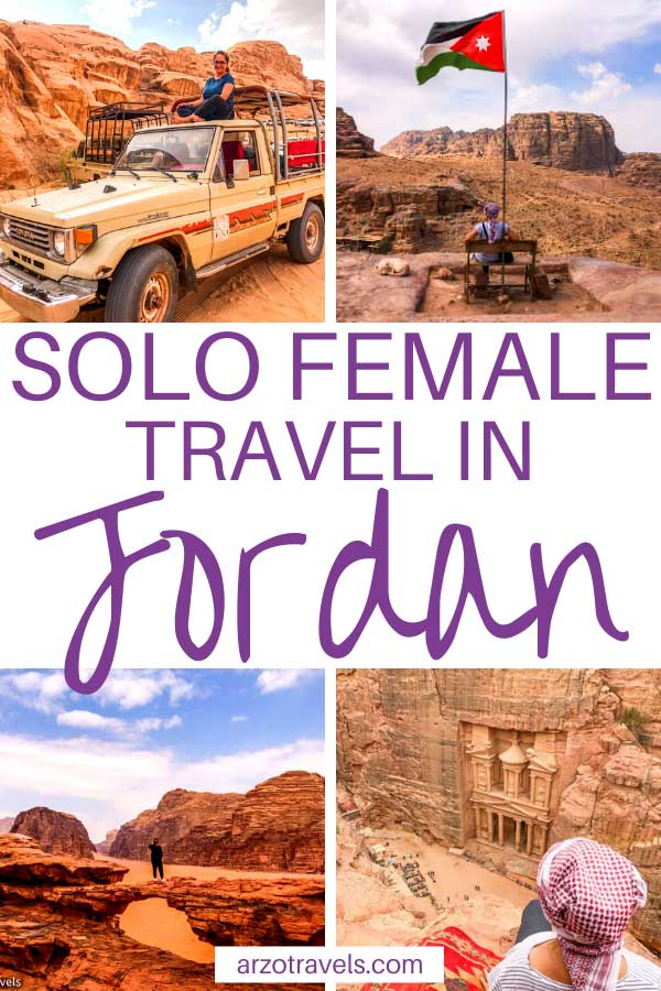 Things to do in Jordan alone, solo travel tips