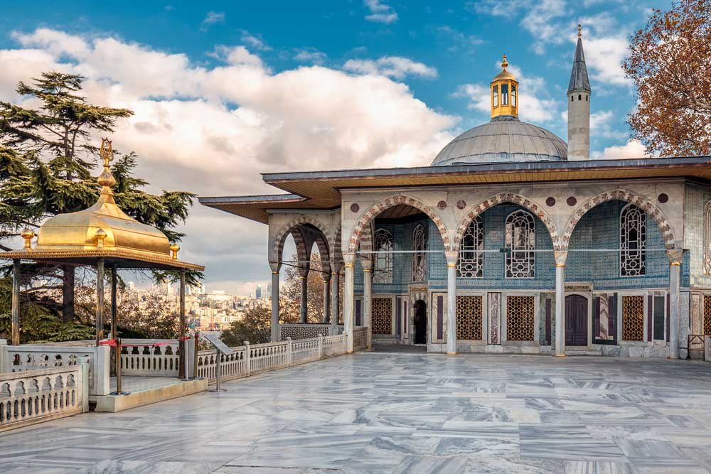 Topkapi-Palasce is one of the best things to see in 2 days in Istanbul