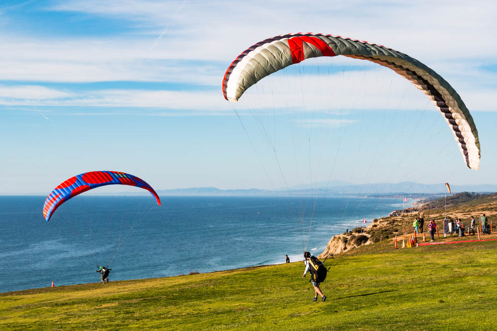 Torrey Pines Gliderport is one of the top places to go in 2 days San Diego