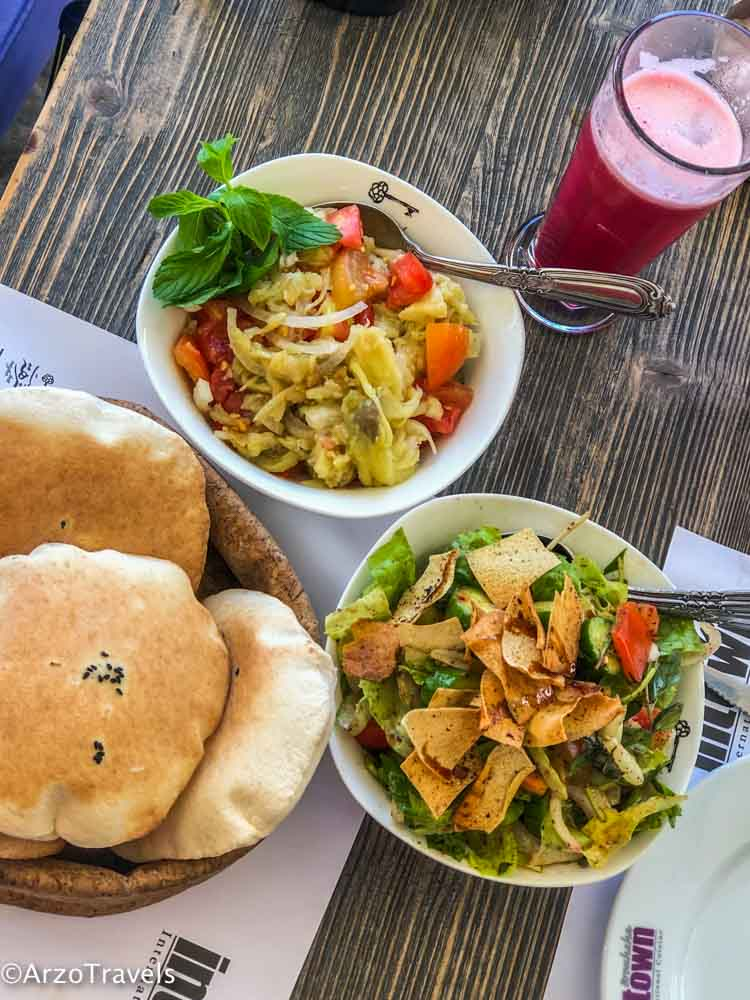 Vegan food in Lebanon