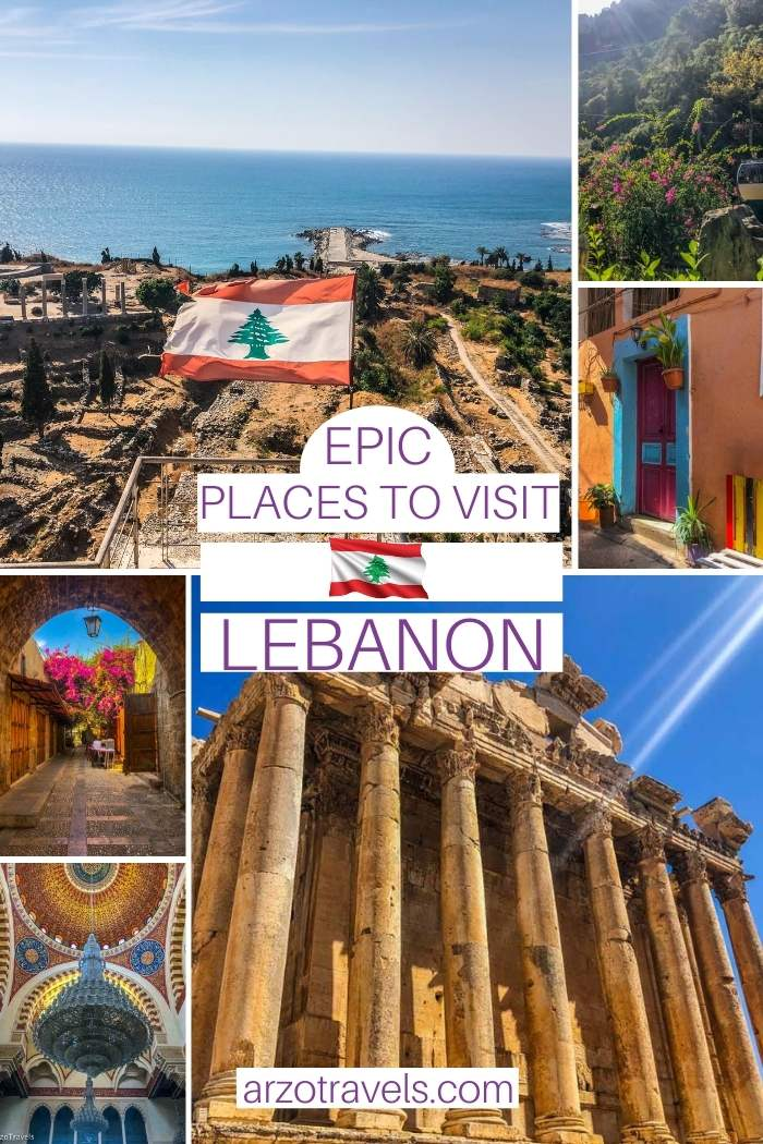 Where to go Lebanon itinerary, Arzo Travels
