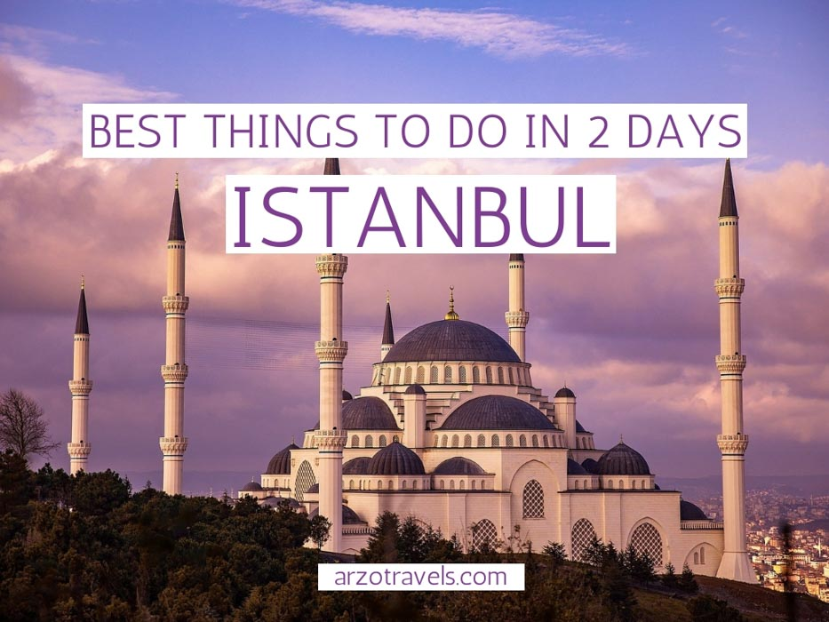 best things to do in Istanbul in 2 days, itinerary