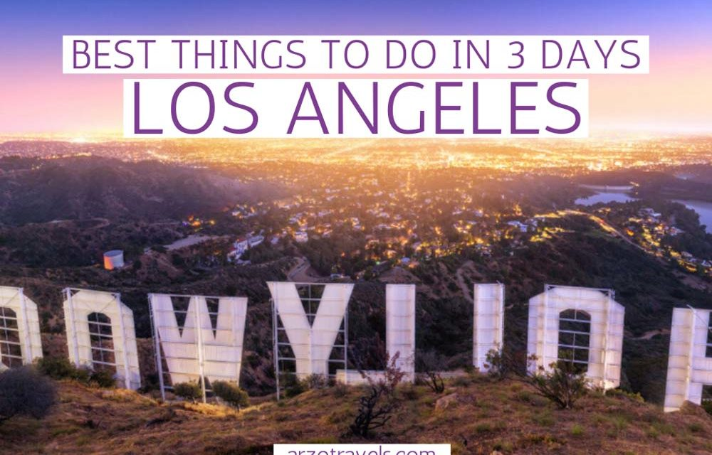3-Day Los Angeles Itinerary