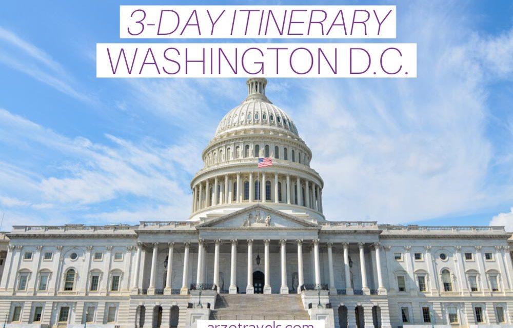 3-Day Washington, D.C. Itinerary