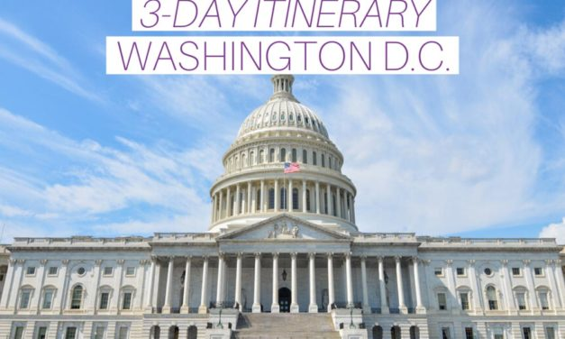3-Day Washington, D.C. Itinerary