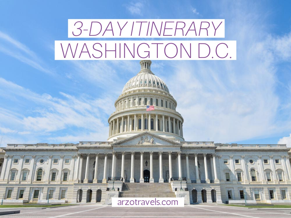 3-day Washington D.C. itinerary