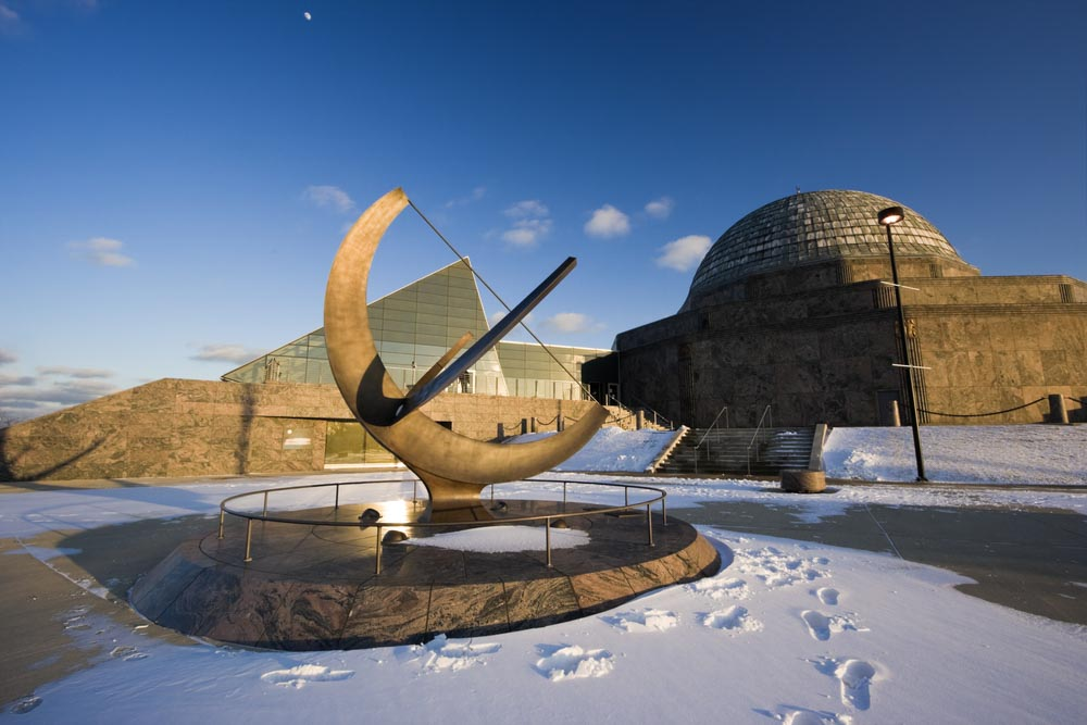 Adler Planetarium in Chicago what to do in Chicago in 3 days