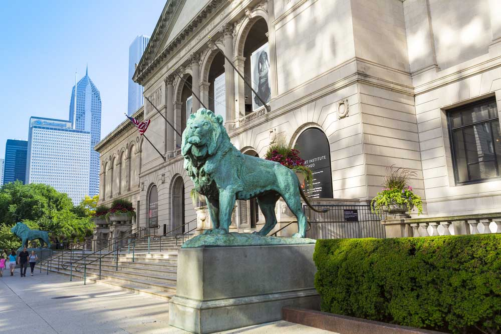 Art Institute of Chicago on a 3-day itinerary for Chicago