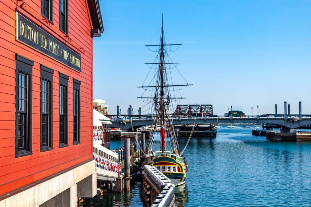 Boston Tea Party Ships and Museum is one of the best places to go in 3 days