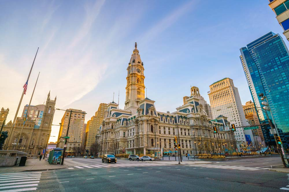 City Hall building in Philladelphia is a must go on 3-day itinerary