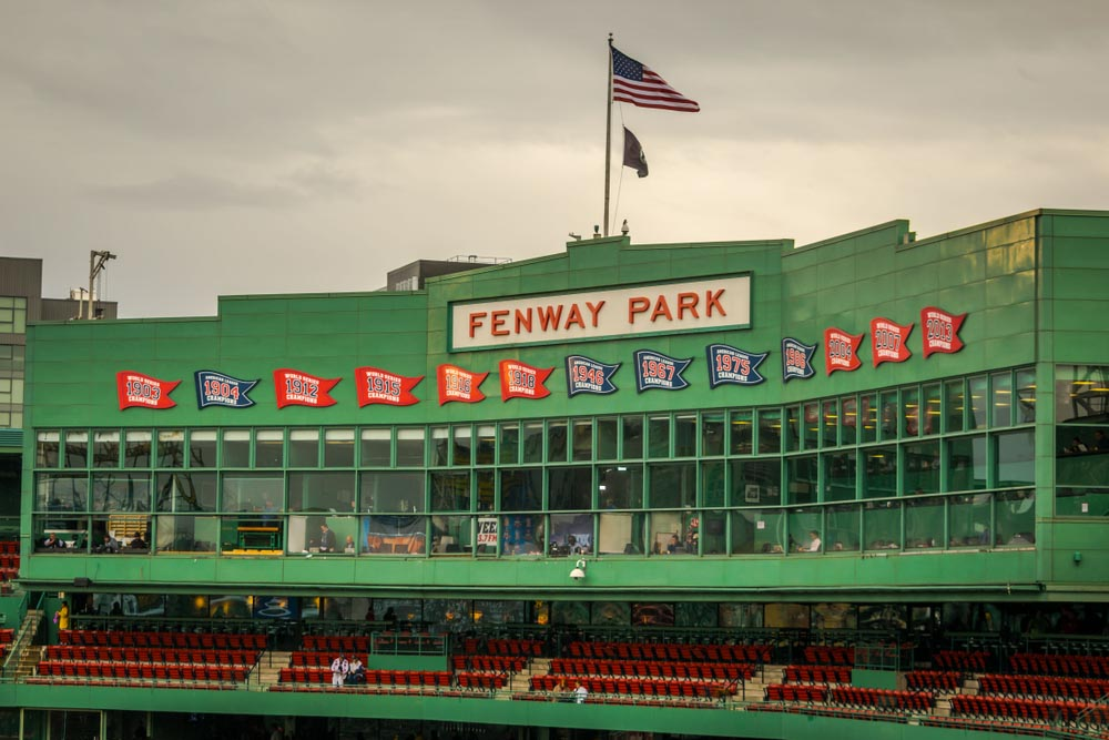 Fenway Park in Boston is a must on Boston 3 days itinerary
