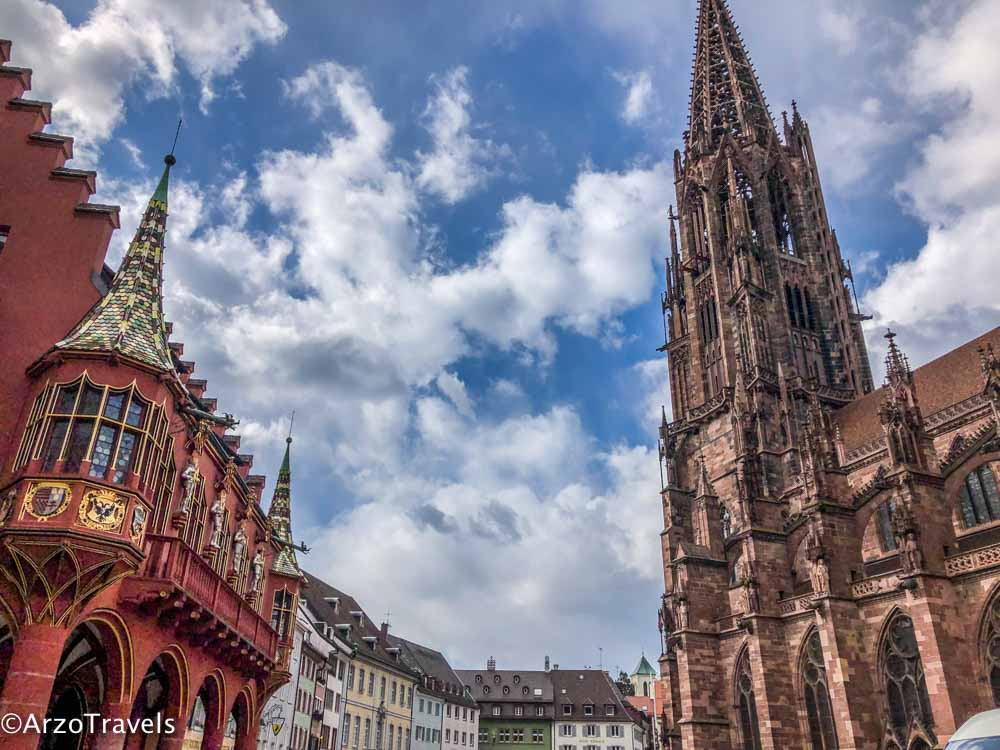Freiburg as a day trip from Strasbourg, France