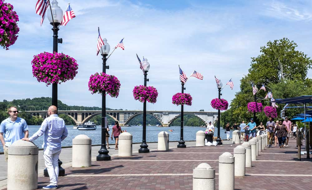 Georgetown Waterfront Boardwalk,