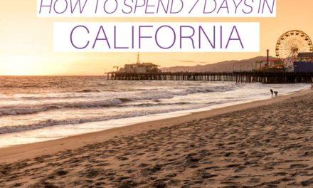 7-Day CaliforniaItinerary