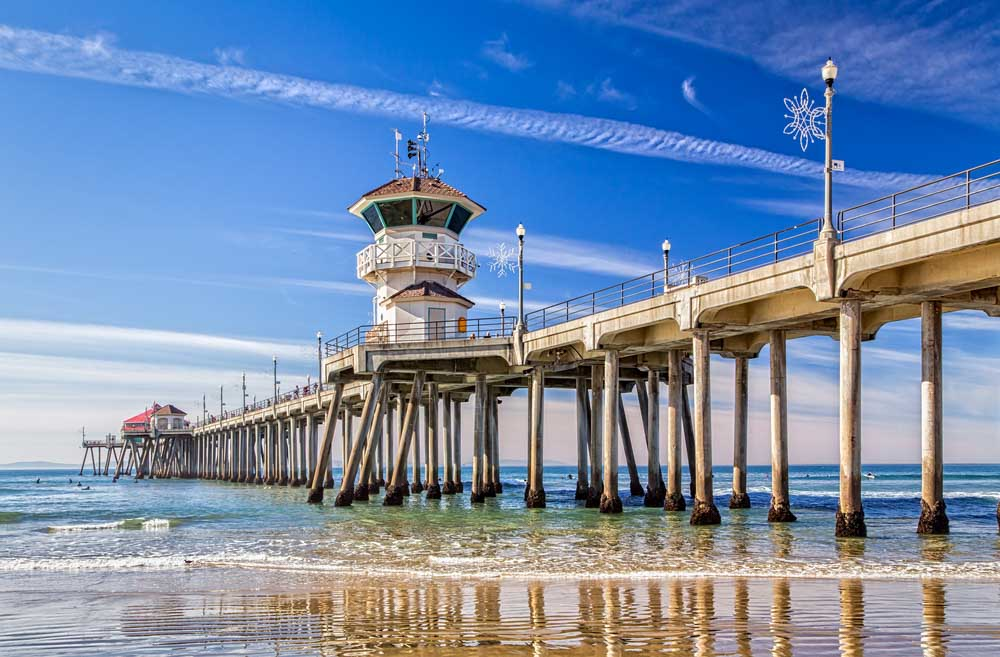 Huntington Beach Pier in Huntington Beach, California add to LA itinerary