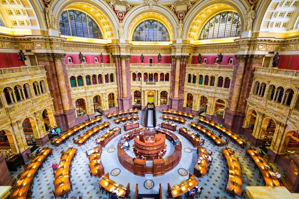 Library of Congress in Washington, Sean Pavone, Shutterstock.com