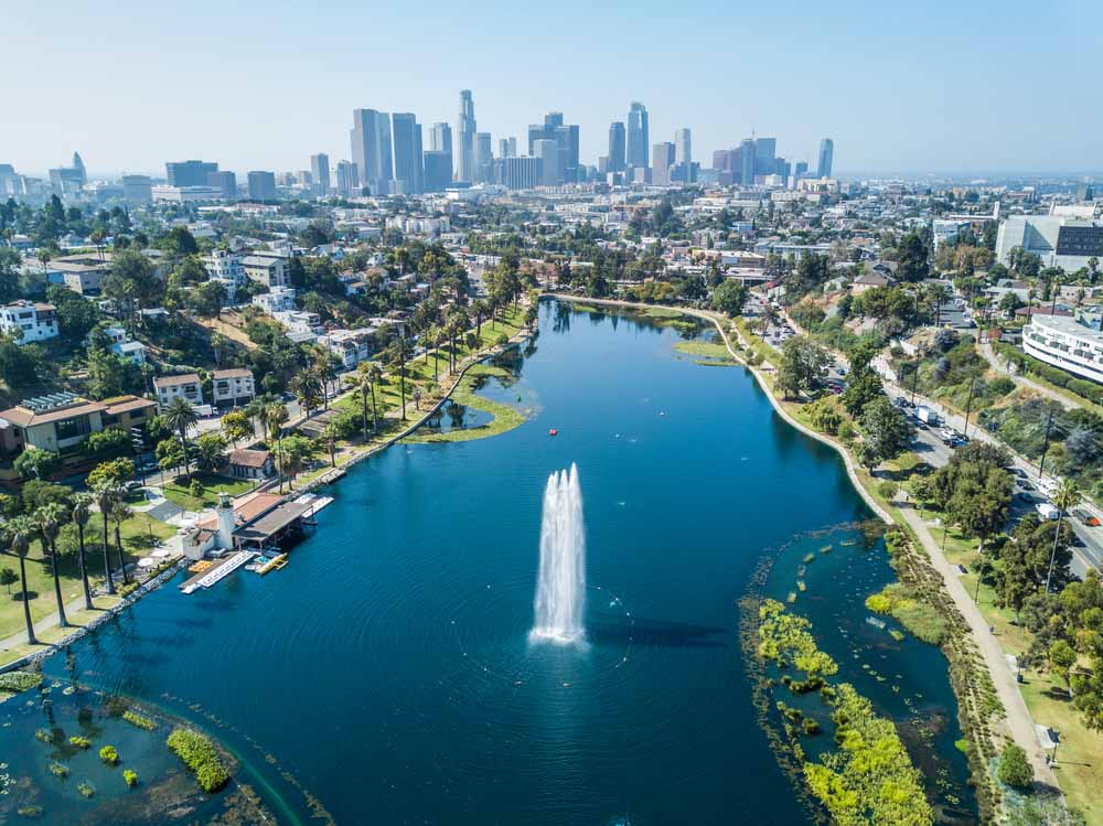 Los Angeles - Echo Park a must-see in LA
