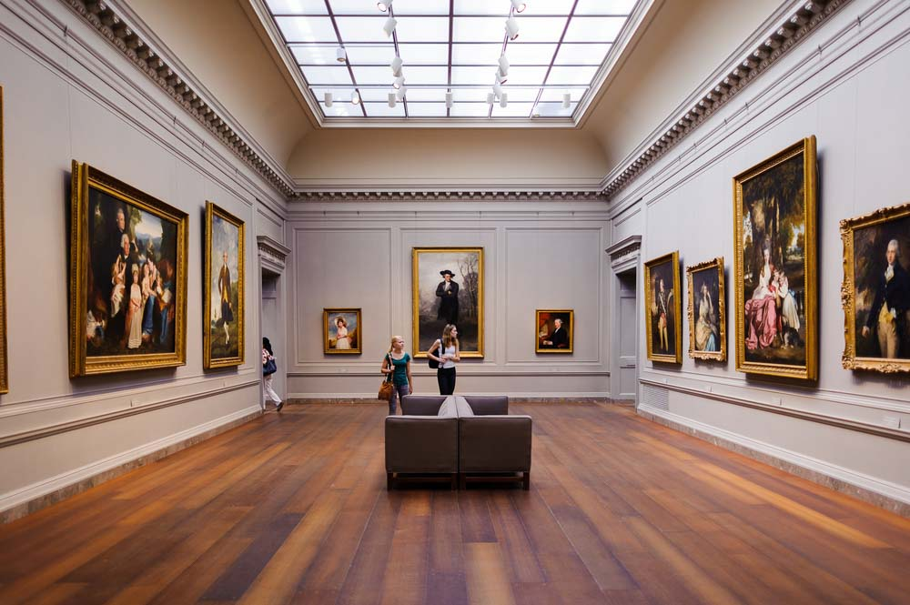 National Gallery of Art, a national art museum in Washington, D.C., National Mall Anton_Ivanov Shutterstock.com