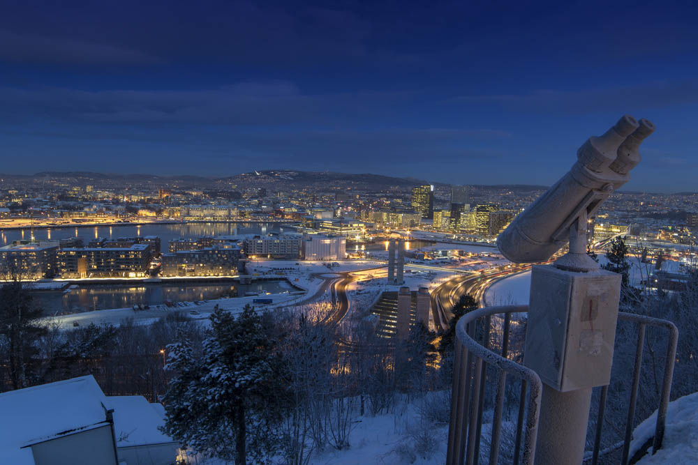 Oslo best city to visit in winter
