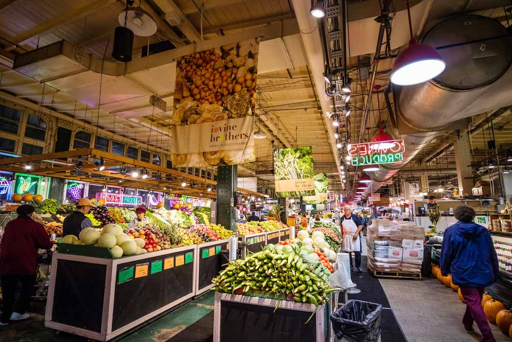 Reading Terminal Market in Philadelphia, USA