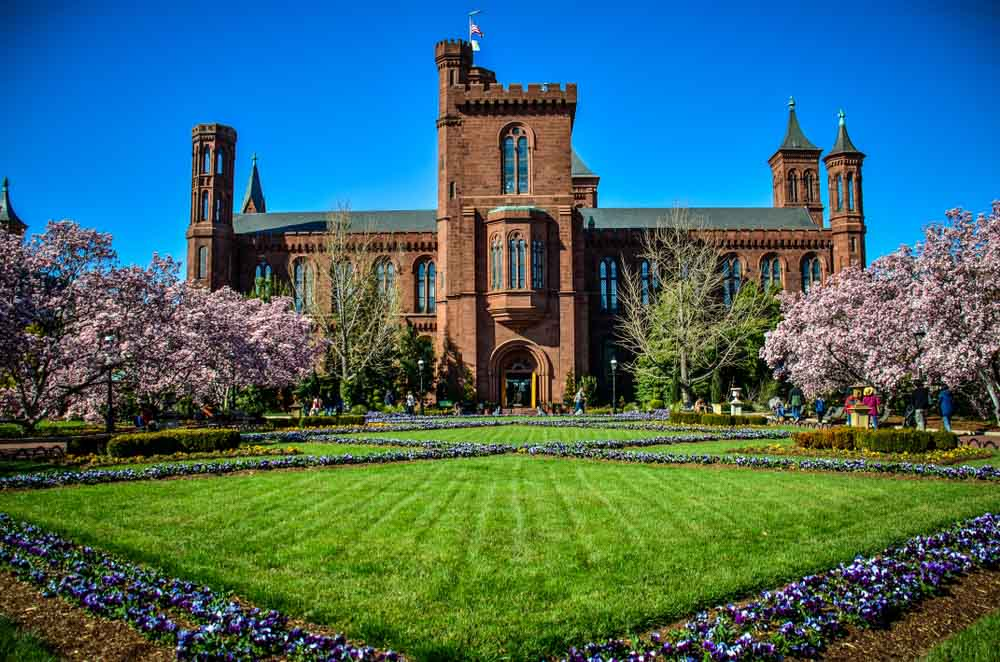 Smithsonian Castle on the National Mall in Washington DC, melissamn Shutterstock.com