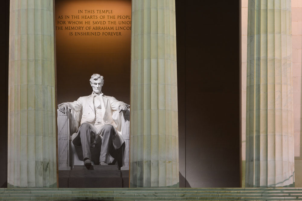 Washington DC - Lincoln Memorial on 3-day Washington itinerary