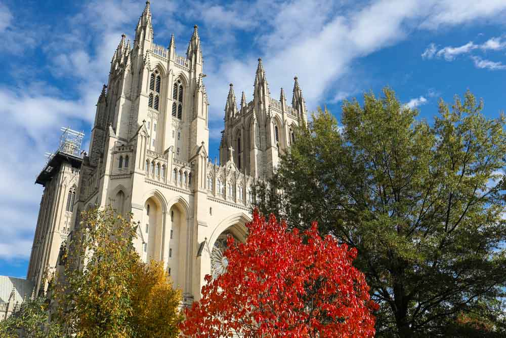 Washington National Cathedral visiting is one of the best things to do in 3 days
