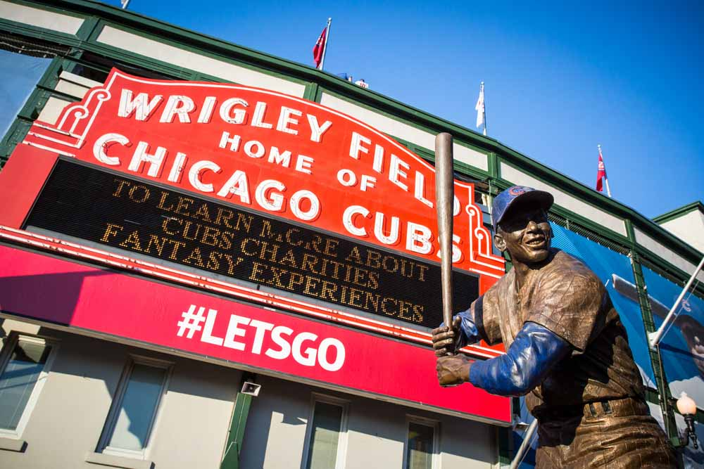 Wrigley Field in Chicago a must see place
