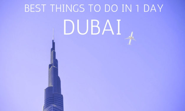 1 Day in Dubai