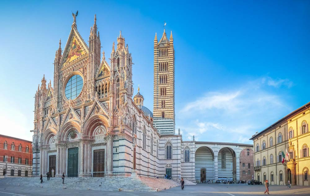 Piazza del Duomo Siena Cathedral, Tuscany, Italy
