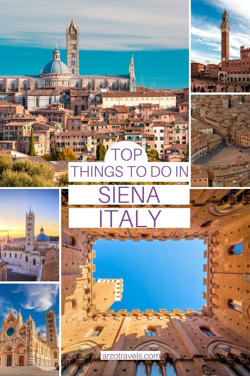 Top things to do in Siena, Italy, Arzo Travels