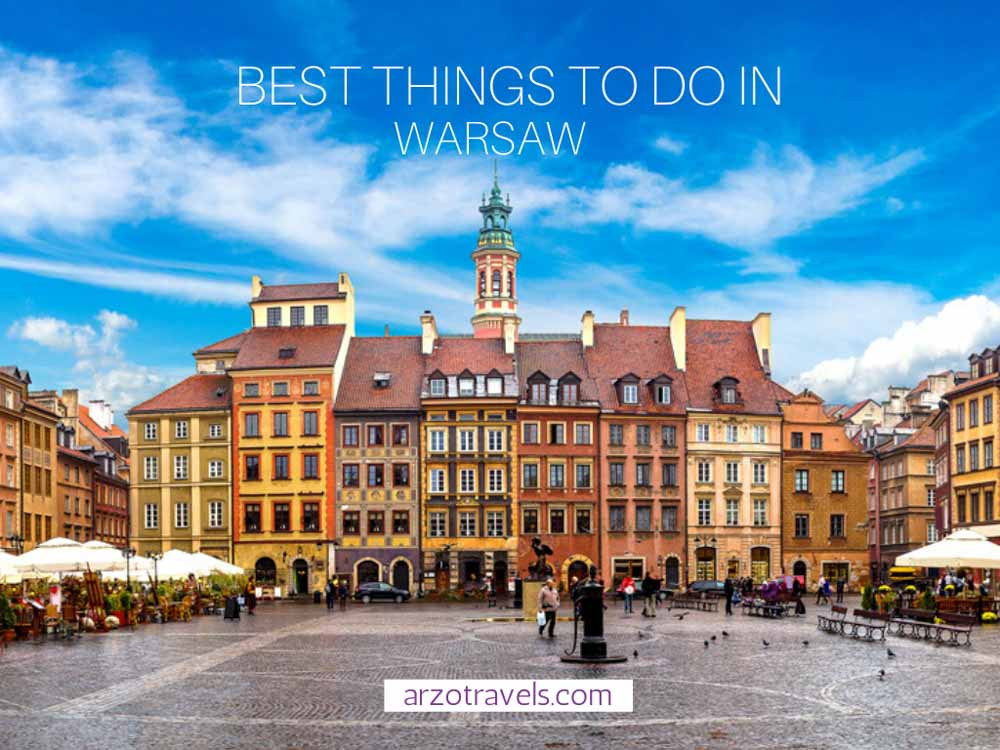 2-day Warsaw itinerary, Cover