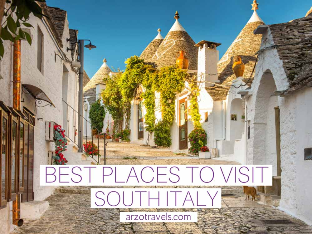 Best places to visit in South Italy