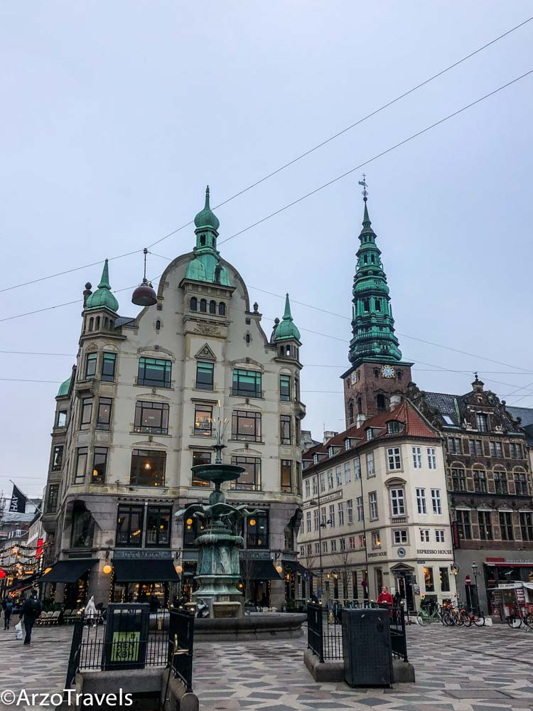 Copenhagen shopping street a place to see in 3 days