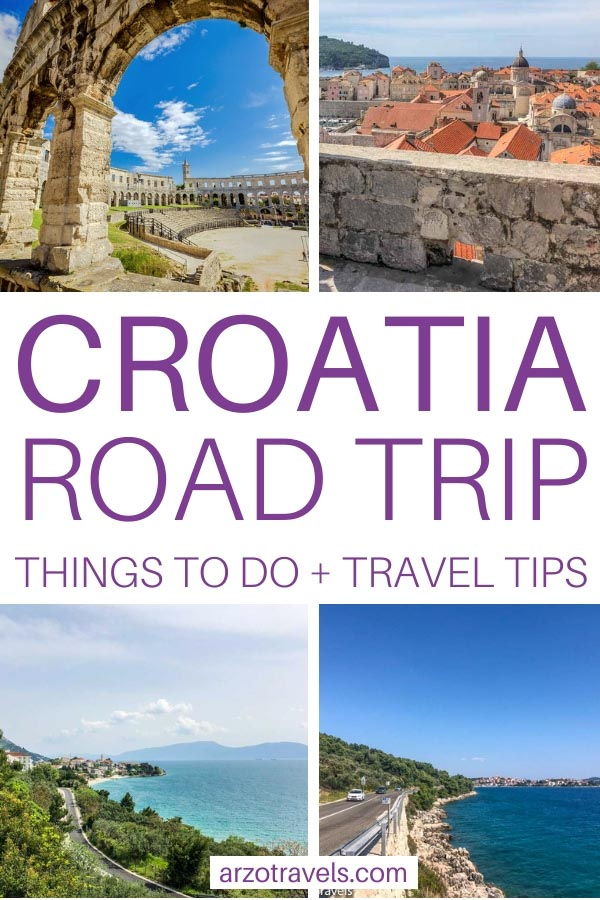 Croatia road trip, places to visit and more travel tips