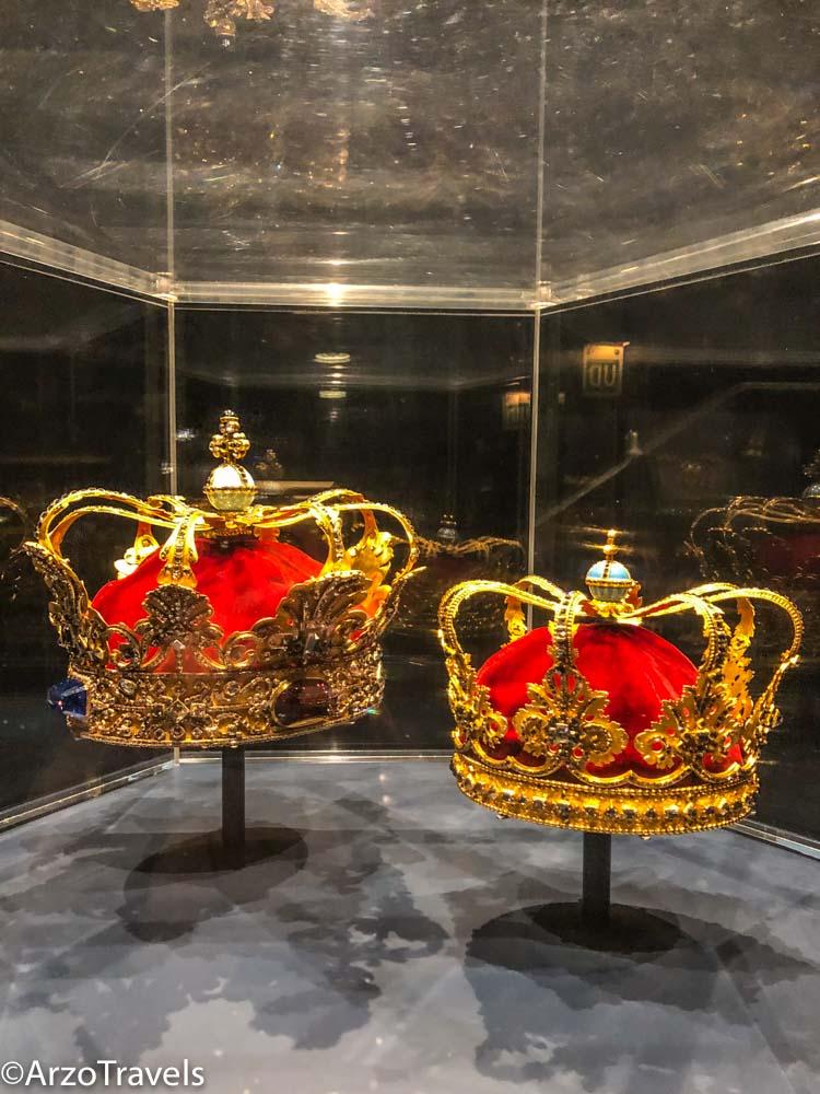 Danish crown jewels in Copenhagen