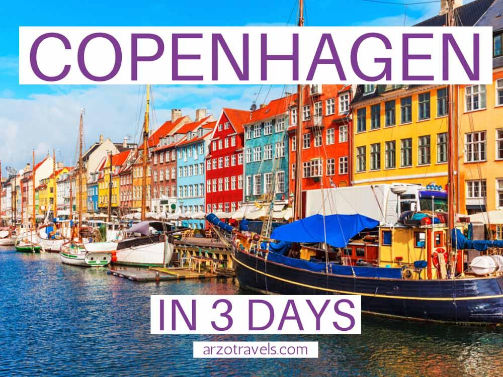 Itinerary Copenhagen in 3 days