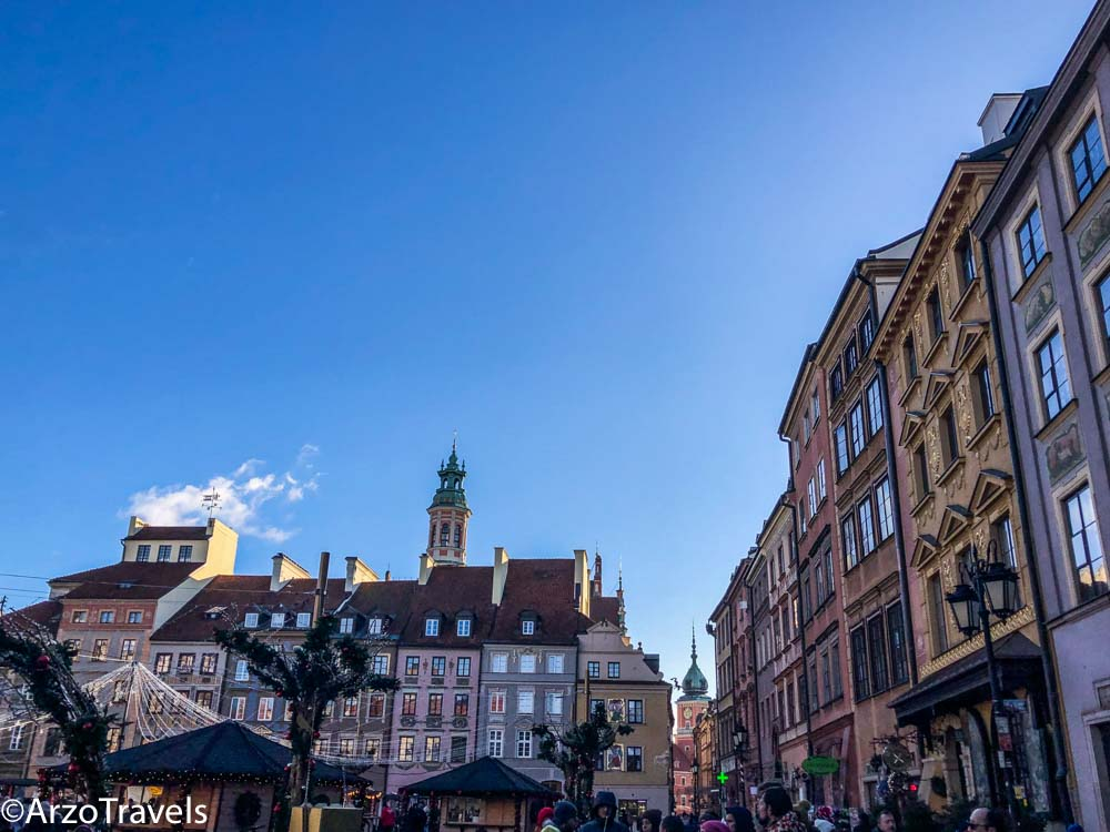 Old town in Warsaw a must do in 7 days in Poland