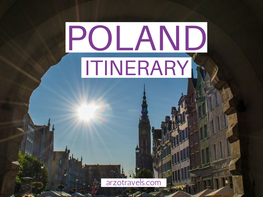 One week Poland itinerary, cover