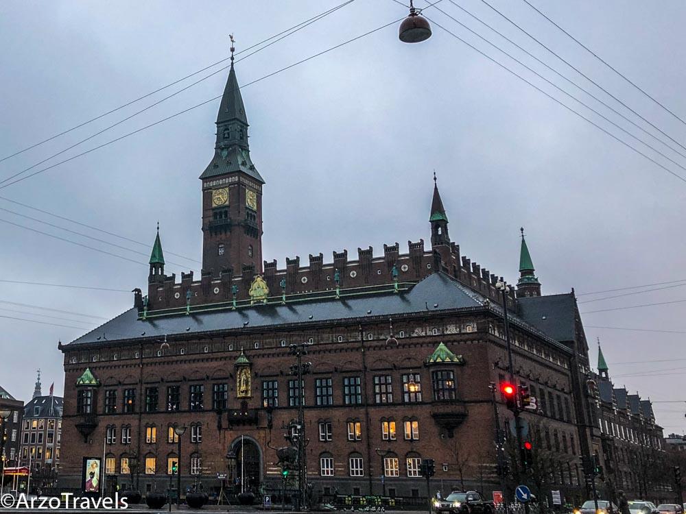 Town Hall in Copenhagen
