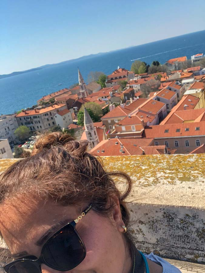 Zadar from above with Arzo Travels_