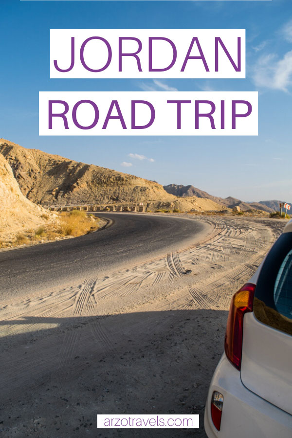 best Jordan road trip, travel tips and more for Pinterest