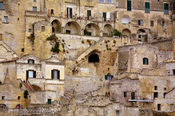 matera in South Italy