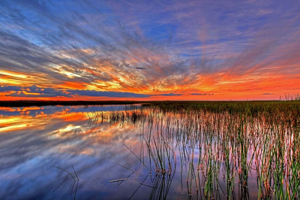 Sunset at Everglades in your 3-day Miani itinerary