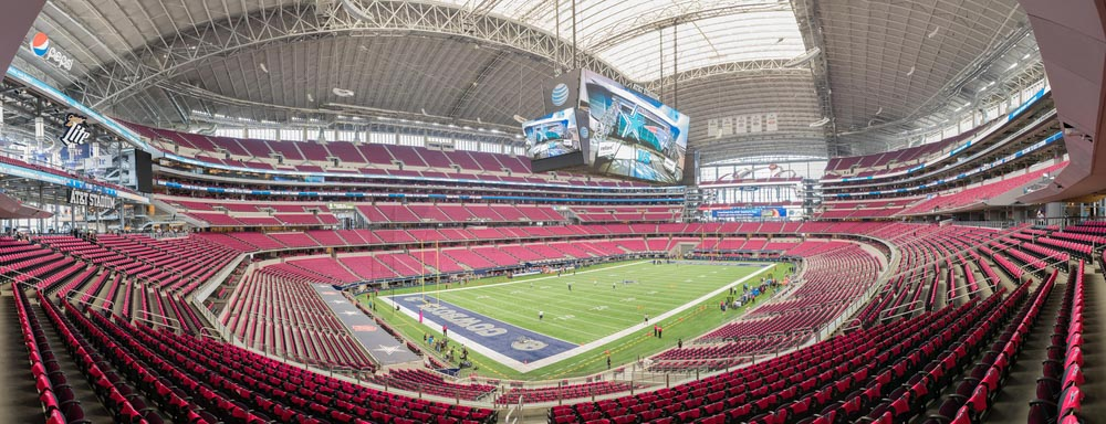 AT&T Stadium in Dallas fitzcrittle,Shutterstock.com