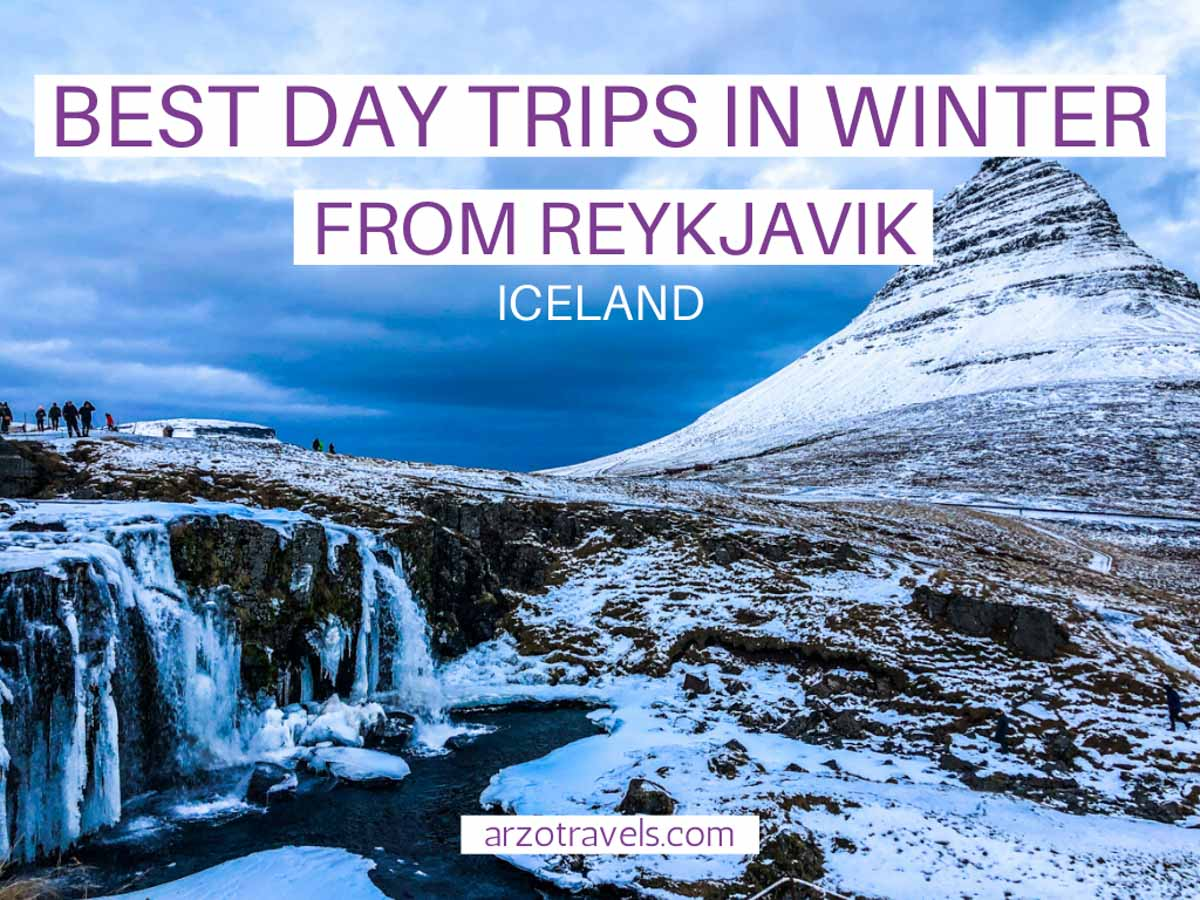 Best day trips in winter from Reykjavik Cover