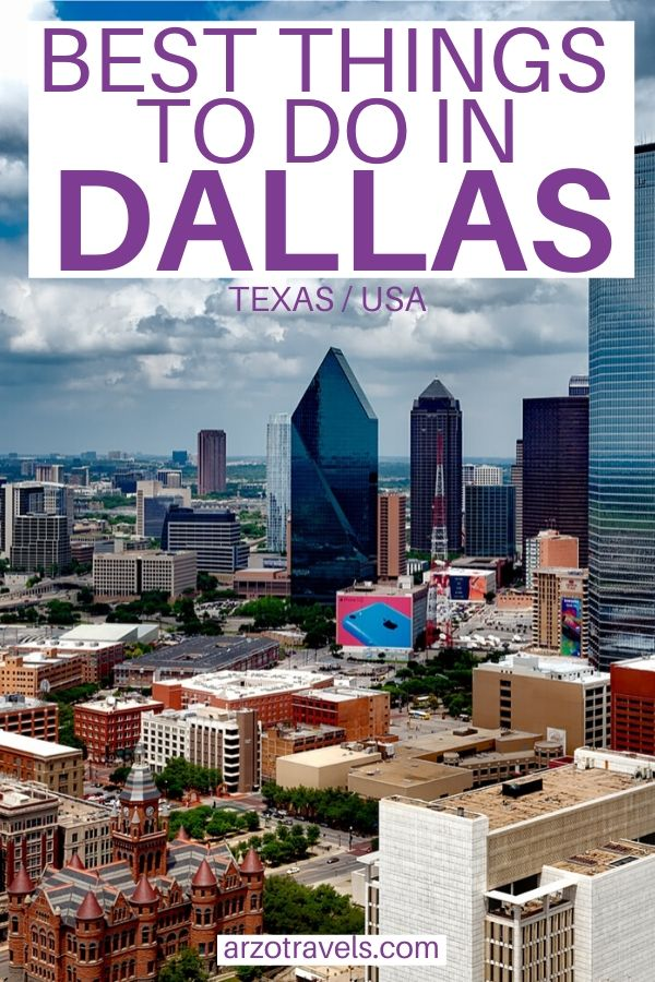 Pinterest - Best things to do in Dallas, Texas, USA