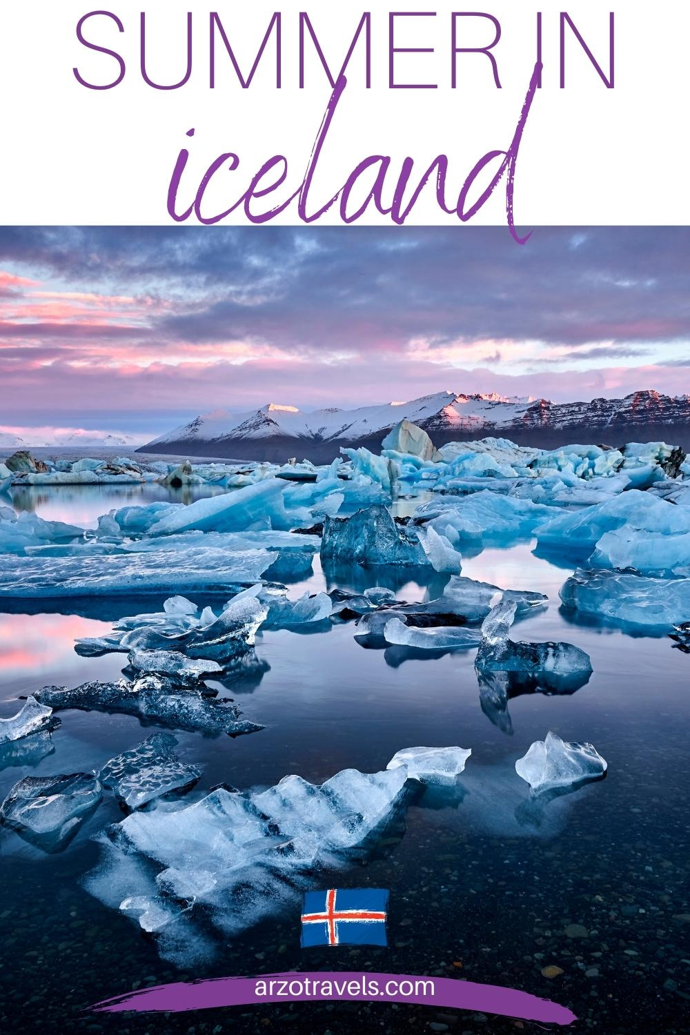 Summer in Iceland, Arzo Travels
