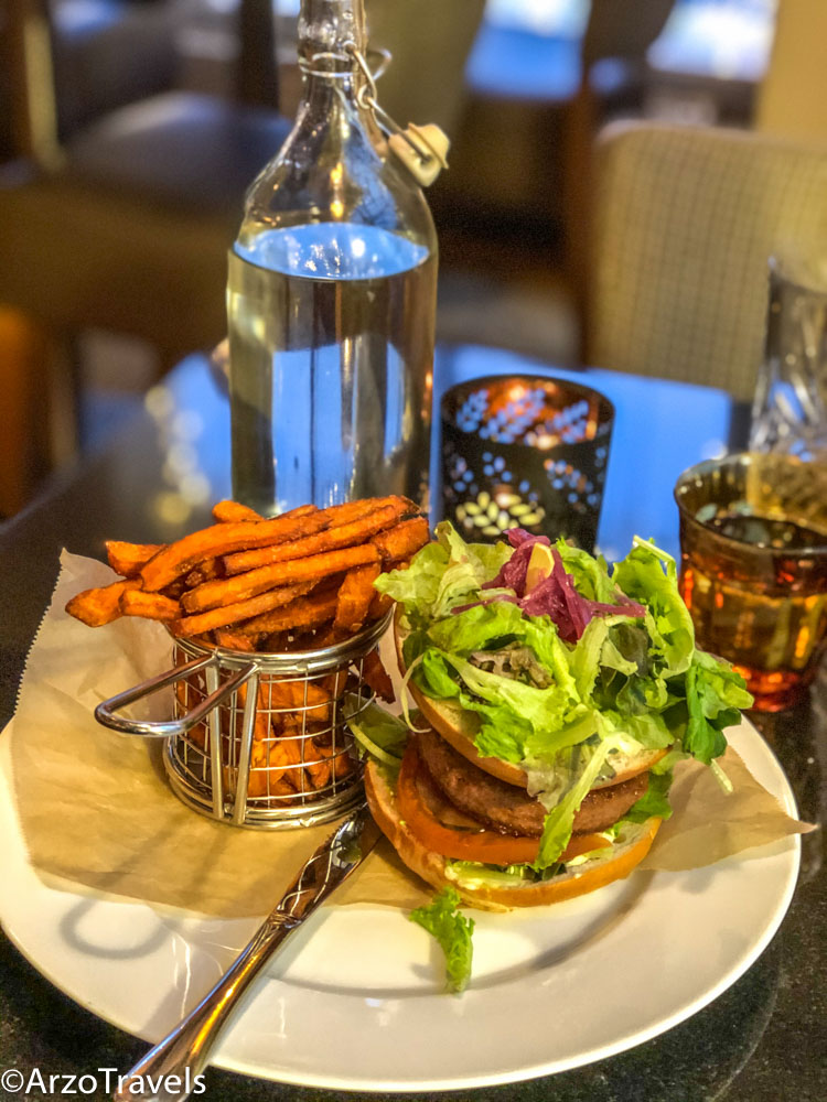 Amazing vegan burger in Reykjavik