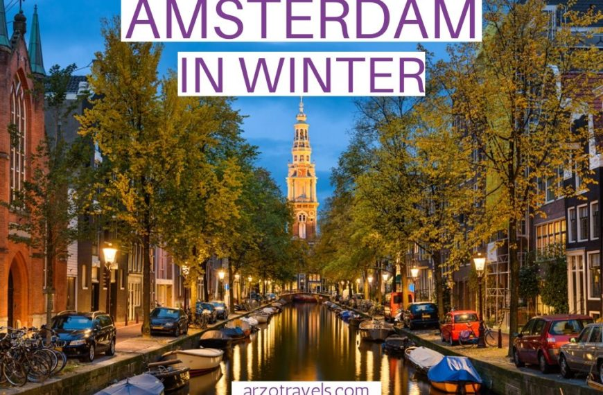 VISITING AMSTERDAM IN WINTER